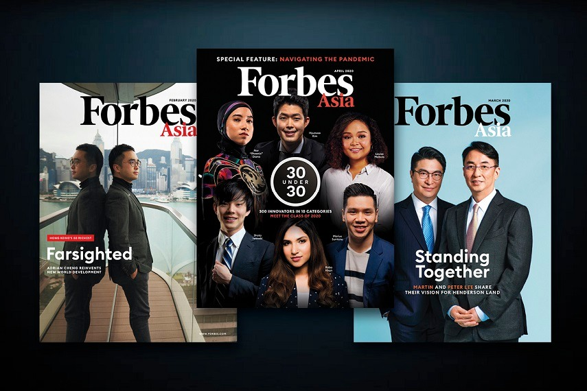 Forbes Asia 3 Issues(physical)